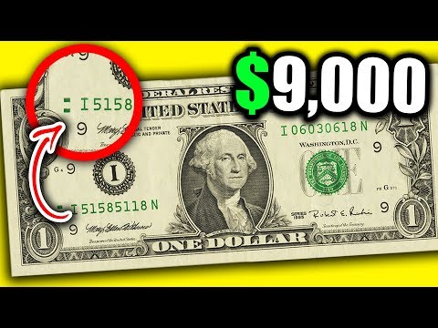 WHY THIS $9,000 DOLLAR BILL IS WORTH A LOT OF MONEY - RARE CURRENCY BANKNOTES TO LOOK FOR