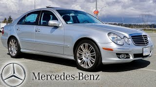 0c9365513b77df 2007 Mercedes Benz E550 (Germany Import) Japan Auction Purchase ...