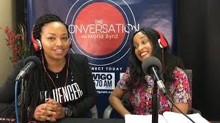 Special Guest (Nurse Kris) Kristina Louissaint  - The Conversation with Maria Byrd Show