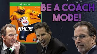 """""""BE A COACH"""" MODE IN NHL 19! You, too, can be Tortorella! (NHL 19 Franchise Mode)"""