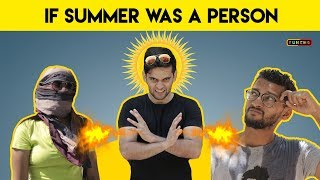If SUMMER was a person | Funcho Entertainment