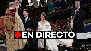 EN DIRECTO: Boda real en Windsor entre Eugenie y Jack Brooksbank