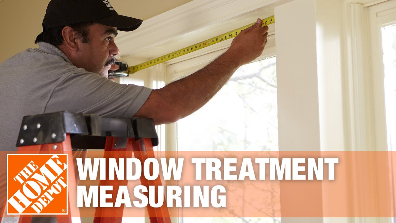 How To Measure For Blinds And Shades The Home Depot