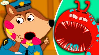 The Fox Family and Friends | Patrol Mission | Cartoon for kids new funny season #821