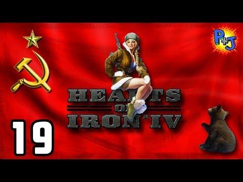 Let's Play Hearts of Iron 4 Soviet Union | HOI4 USSR Elite Gameplay | World Revolution Part 19
