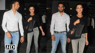 What's Cooking Between Amy Jackson And Upen Patel ? - Find Out