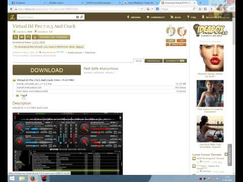 Video Tutorial creare radio online cu virtual dj