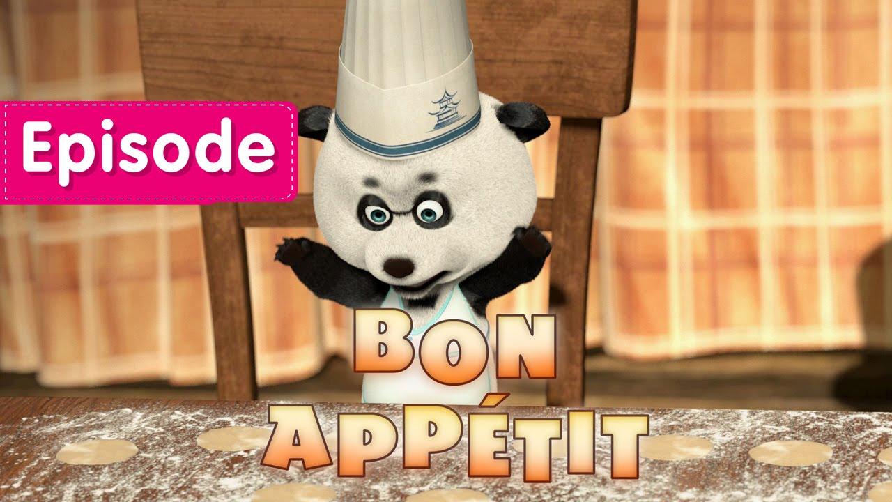 Masha And The Bear Bon Appétit Episode 24 New Cartoon For Kids 2016