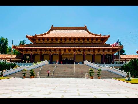 Hsi Lai Temple in Hacienda Heights, CA