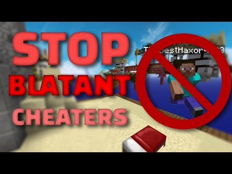 How Mojang could stop blatant cheaters