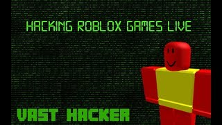 😱 HACKING ROBLOX GAMES! 😱 JAILBREAK, MURDER MYSTERY, TYCOONS & MORE! INVADING OTHERS STREAMS!