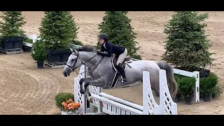 Emmy Dolin and Parian -- Equitation Classic -- Reserve Champion on Newly Imported Baby Green