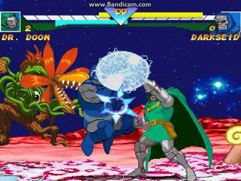Darkseid vs dr doom face