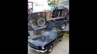Doug's 1965 Ford Mustang 7.2 year restoration