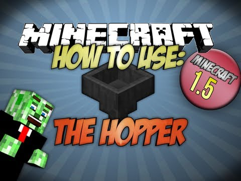 how-to-use-the-hopper-minecraft