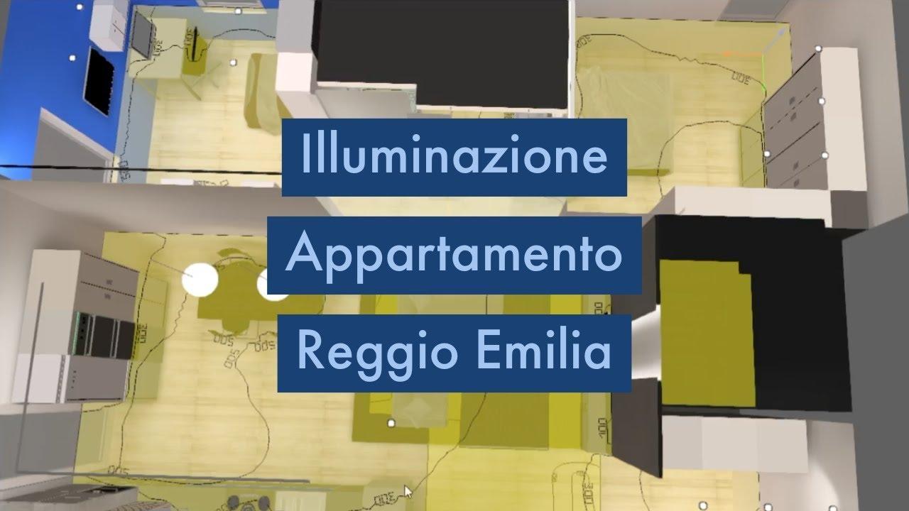 Illuminazione Appartamento Reggio Emilia | Metodo Luce 3D