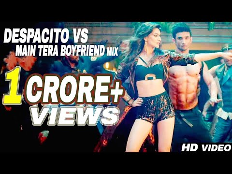 Despacito Vs Main Tera Boyfriend - Remix . Dj Harshal . Video:-Soumik Wahid . Lyrical Video