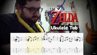 Zelda's Lullaby - Ukulele (Audio Fixed | Tab Added) (REUPLOAD)