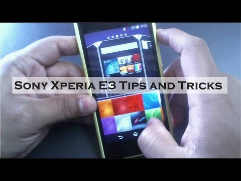 Sony Xperia E3 Tips and Tricks | Features Overview