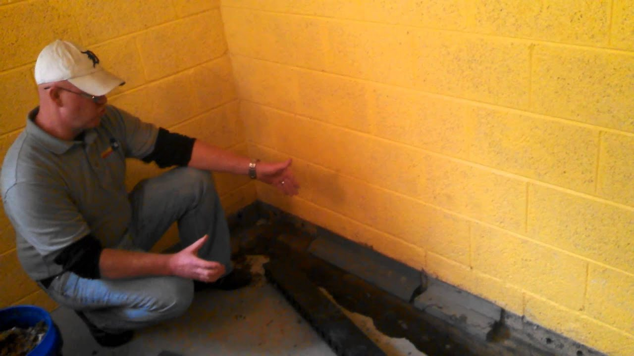 Difference Between Grate Drain Basement Waterproofing