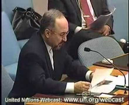 Iran Ambassador on Nuclear Issue to UN Security Council 3/4