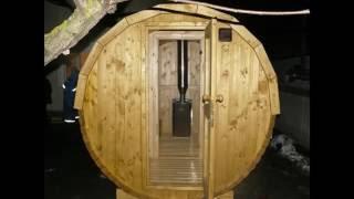 Сборка бани бочки(Сборка деревянной бани или сауны бочки осуществляется на месте установки. Другие размеры бочек бань можно..., 2014-11-23T11:40:10.000Z)