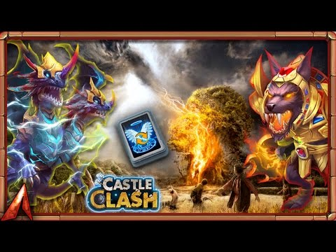 Claiming Demogorgon And Anubis! 200 Talent Refresh! Castle Clash