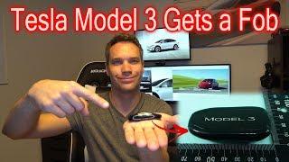 Tesla Model 3 Key Fob Confirmed!