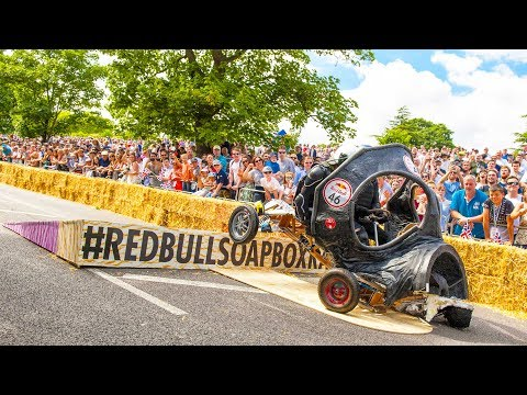 TOP 5 Crashes from Red Bull Soapbox Race UK 2017 | Pick your favorite