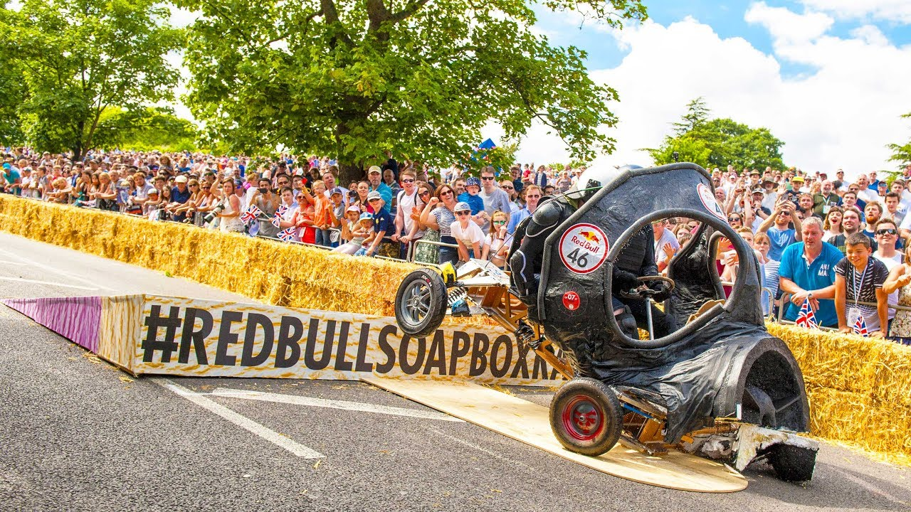 Red Bull Soap Box Derby >> Top 5 Crashes From Red Bull Soapbox Race Uk 2017 Pick Your Favorite