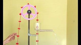 Bomba D'água Sem Energia Elétrica - Bomba Rosário ou Bomba de Soga