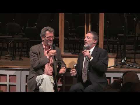 September 23, 2017 Concert Conversation Blanton Alspaugh, Senior Producer at Soundmirror, and Robert