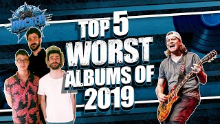 Gambar cover Top 5 WORST Albums Of 2019 | Rocked