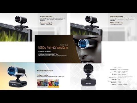 WebCam A4Tech 1080p Full HD Teste PK-910H