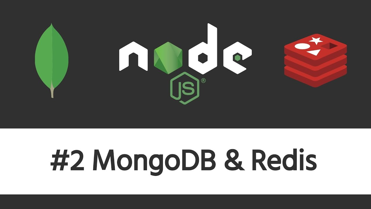 Authentication in Node.js - #2 Connecting to MongoDB & Redis