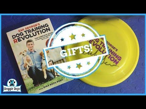 Zak George Dog Training Book Giveaway!
