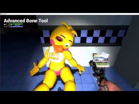 How to make fnaf in gmod purble guy kill freddys