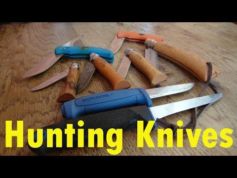 Hunting Knives Explained