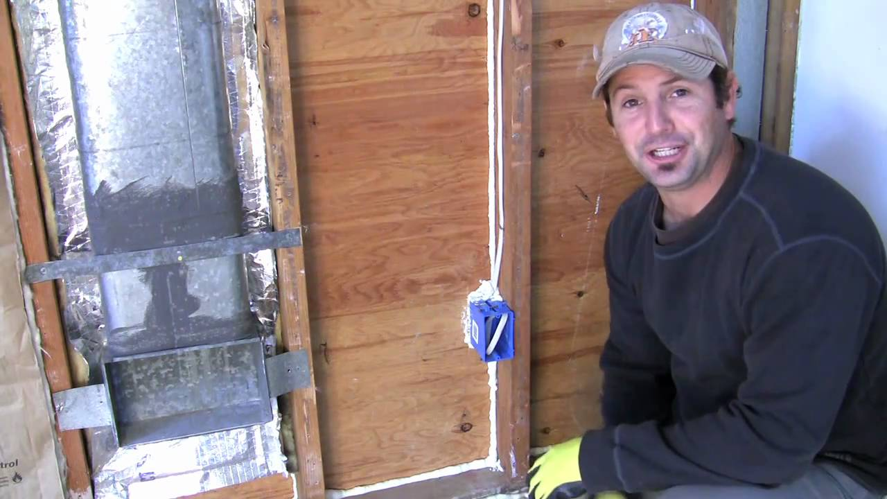 How to Install Insulation around Electrical Outlets and Light ...