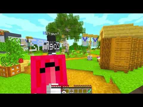 AIUTO I Tuoi AMICI Da BIMBO Ragno Su Minecraft!