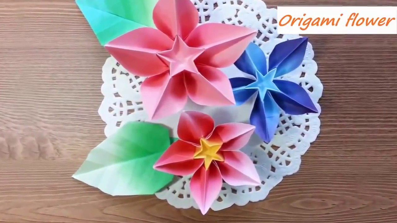 Easy origami flower instruction how to make origami carambola easy origami flower instruction how to make origami carambola mightylinksfo