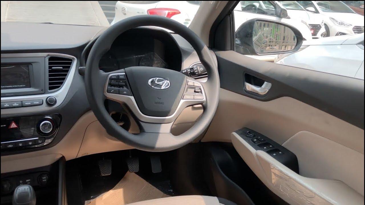 2017 Hyundai Verna EX Model Full Interior and Exterior ...