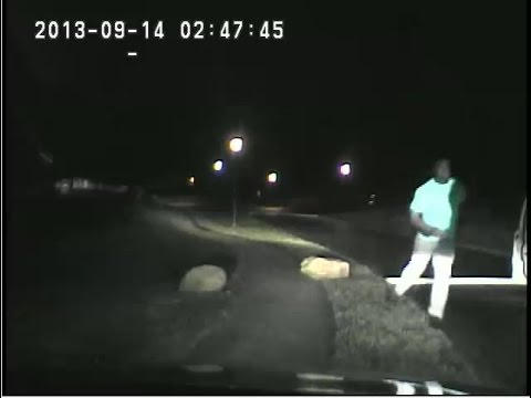 Full Dashcam: Jonathan Ferrell shooting