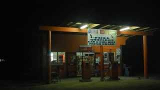 POLYNESIE COOK ISLANDS  AITUTAKI NIGHT GAS STATION 2013 SERGEJ FEDULOW
