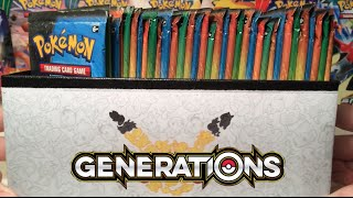 Pokemon Cards - GENERATIONS BOOSTER BOX!!! (Part 1)