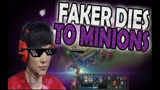 Faker Dies to Minions | TSM Squad Denies Fans Hands | League of Legends Funny Moments #64