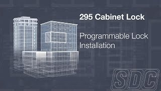 295 Programmable Cabinet Lock Installation Video
