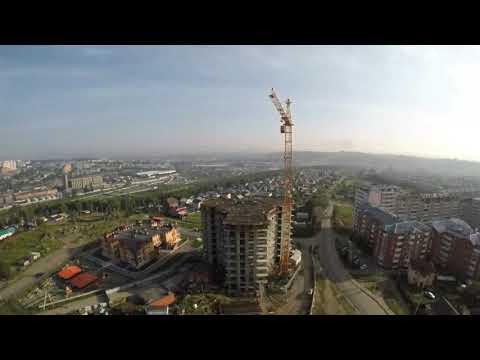 Таймлапс строительства башни «Небо». Март 2019 г.