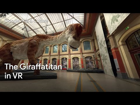 Giraffatitan: Back to Life in Virtual Reality #PreviouslyOnEarth