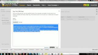 Bing PPC Part 3 (Tracking Conversions)